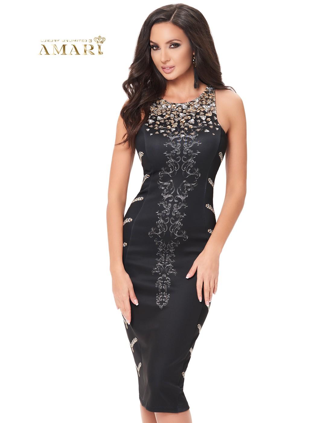 Коктейлна рокля BLACK CAVIAR